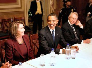 Pelosi obama reid